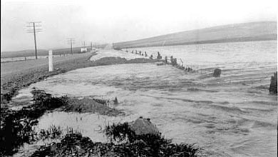 Flood, Burra, 13th September, 1960