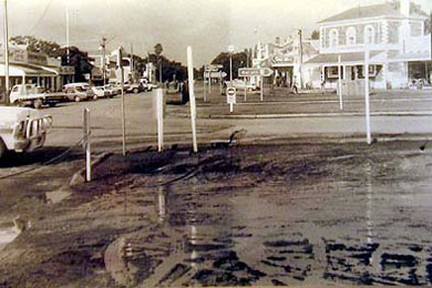 1983 flood in Burra