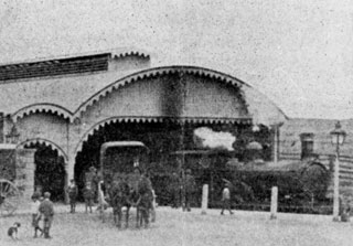Burra Station in 1904 detail