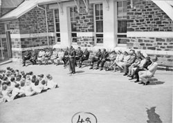 The opening of the Burra Primary School library in 1966