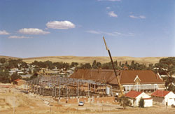Construction of  the new Burra Community School