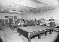 The Billiard Saloon was built in Market Square, Burra,