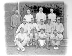 Rambler Cricket Club: Premiers Burra Cricket Association 1927-1928.