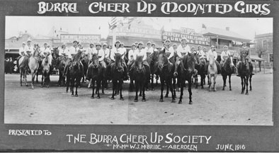 Burra Cheer-Up Mounted  