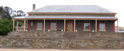 Burra High School from 1887 to 1907