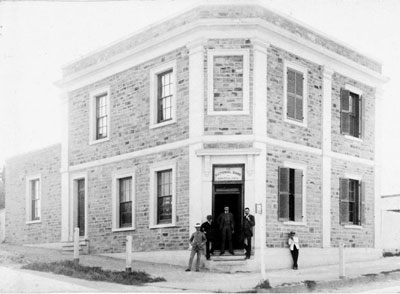 Burra National Australia Bank opened in 1859