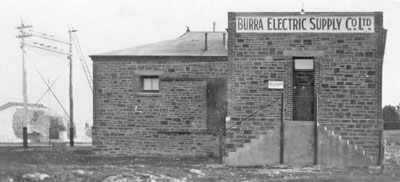 Burra Electric Supply Co. powerhouse