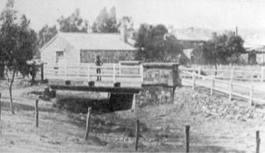 Original St Joseph's Chapel and School in Commercial St, Kooringa,