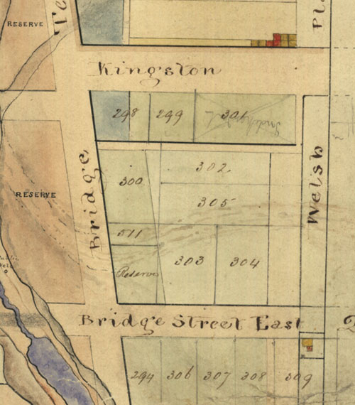 Plot 301, Kooringa Map 1849