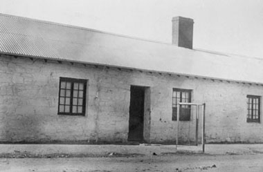 Howley's cottage in Paxton Square where Mass was first celebrated in Burra