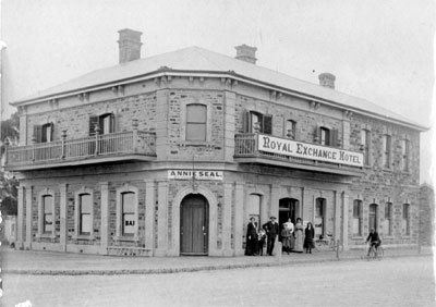 Burra Royal Exchange Hotel opened in 1881