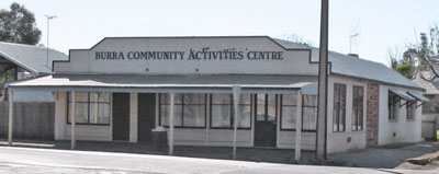 Burra activity centre