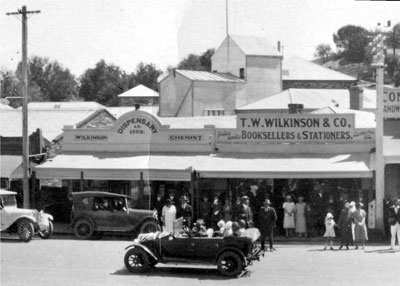 bullrush clothing store in 1925