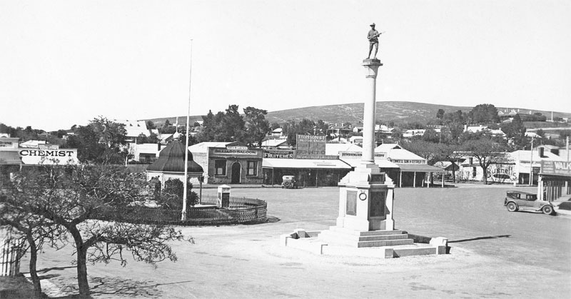 Burra Market Square South-East