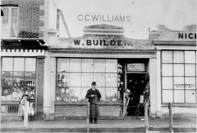 Williams the builder, Burra