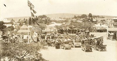 Peace in Burra, 1918